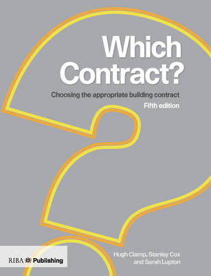 Which Contract?: Choosing The Appropriate Building Contract (Paperback)