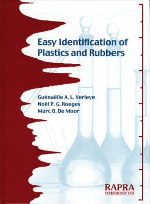 Easy Identification of Plastics and Rubbers (Hardback)