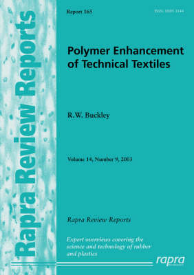 Polymer Enhancement of Technical Textiles: v.14, No.9 (Paperback)