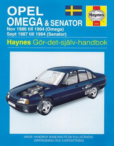 Opel Omega & Senator (86 - 94) (Hardback)
