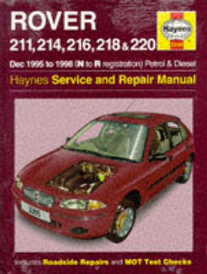 rover 200 series 95 98 service and repair manual by steve rendle rh waterstones com Justy Service Repair Manual Auto Repair Service Manuals