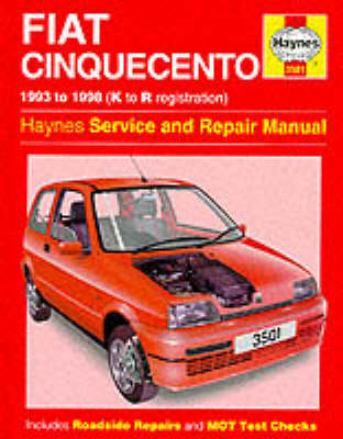 fiat cinquecento service and repair manual by steve rendle spencer rh waterstones com fiat cinquecento manual download fiat cinquecento manual taller español