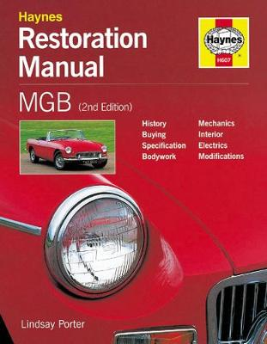 MGB Restoration Manual (Hardback)
