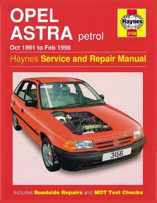 Opel Astra Petrol (Oct 91 - Feb 98) (Paperback)