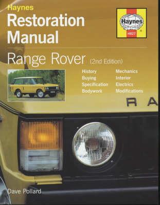 Range Rover Restoration Manual (Hardback)