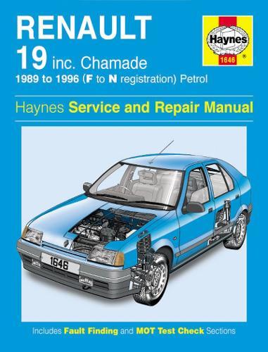 Renault 19 Petrol (89 - 96) F To N (Paperback)