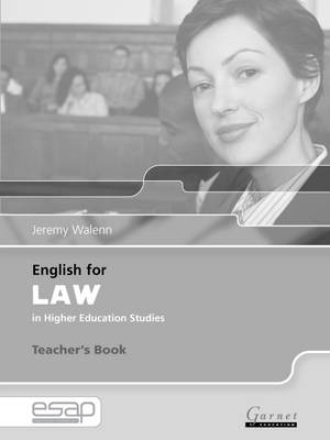 English for Law Teacher Book (Board book)