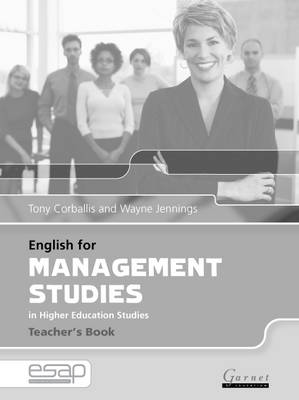 English for Management Studies Teacher's Book (Paperback)
