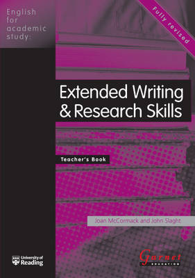 Extended Writing and Research Skills - English for Academic Study S. (Paperback)