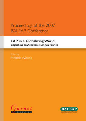 EAP in a Globalising World - English as an Academic Lingua Franca (Board book)