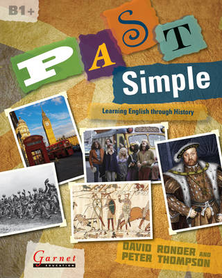 Past Simple Learning English through History (Board book)