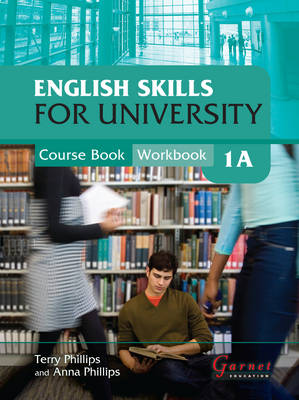 English Skills for University 1A Combined Course Book & Workbook with CDs (Board book)
