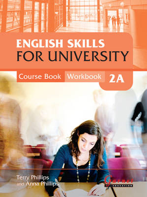 English Skills for University 2A Combined Course Book & Workbook with CDs (Board book)