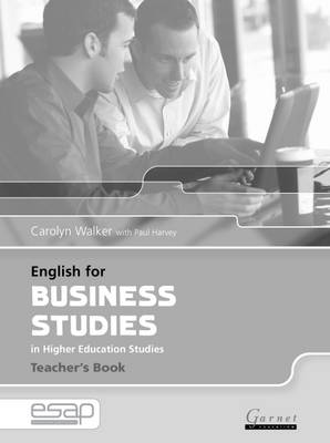 English for Business Studies Teacher Book (Paperback)