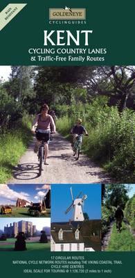Kent: Cycling Country Lanes - Goldeneye Cyclinguides (Sheet map, folded)