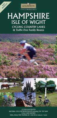 Hampshire and the Isle of Wight: Cycling Country Lanes - Goldeneye Cyclinguides (Sheet map, folded)
