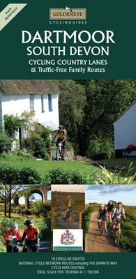 Dartmoor and South Devon: Cycling Country Lanes - Goldeneye Cyclinguides (Sheet map, folded)