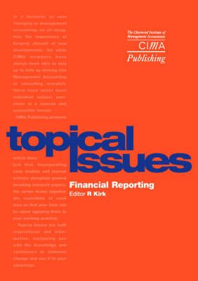 Financial Reporting - CIMA Pilot Papers (Paperback)
