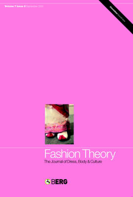 Fashion Theory: Fashion Under Fascism: The Journal of Dress, Body and Culture - Fashion Theory v. 7 (Paperback)