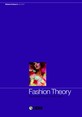 Fashion Theory: Kenji Mizoguchi and the Art of Japanese Cinema: The Journal of Dress, Body and Culture - Fashion Theory v. 8 (Paperback)