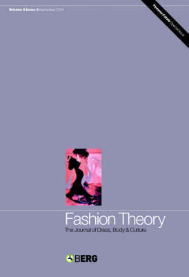 Fashion Theory: Body Style: The Journal of Dress, Body and Culture - Fashion Theory v. 8 (Paperback)