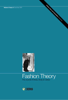 Fashion Theory: Fashioning Models: The Journal of Dress, Body and Culture - Fashion Theory v.8 (Paperback)