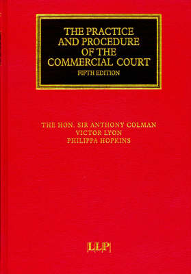 Practice and Procedure of the Commercial Court - Lloyd's Commercial Law Library (Hardback)