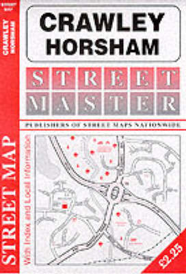 Crawley & Horsham Street Map (Sheet map, folded)