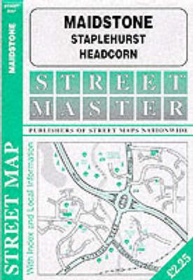 Maidstone - Staplehurst - Headcorn (Sheet map, folded)