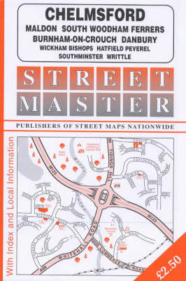 Streetmaster Street Plan of Chelmsford (Paperback)