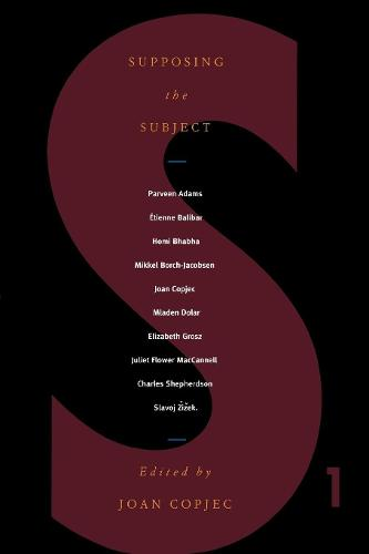Supposing the Subject - S No 1 (Paperback)