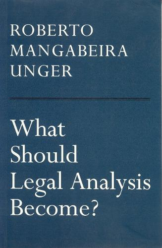 What Should Legal Analysis Become? (Paperback)