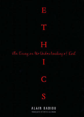 Ethics: An Essay on the Understanding of Evil - Wo es war (Paperback)