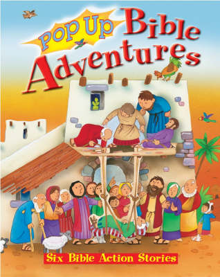 Pop Up Bible Adventures (Hardback)