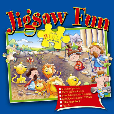 Bible Jigsaw Fun - Candle Bible for Toddlers (Hardback)