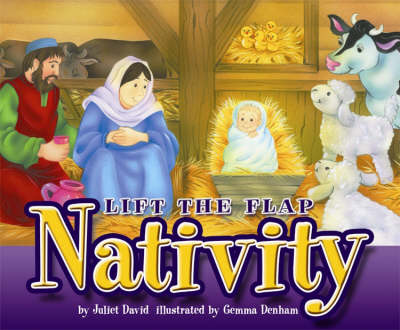 Lift the Flap Nativity - Lift the Flap (Hardback)