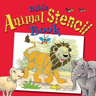 Bible Animal Stencil Book (Board book)