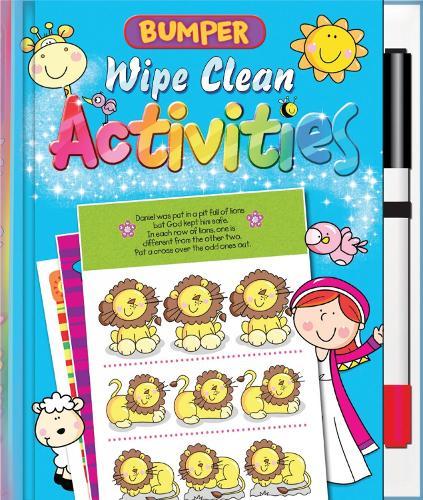 Bumper Wipe Clean Activities - Wipe Clean (Spiral bound)