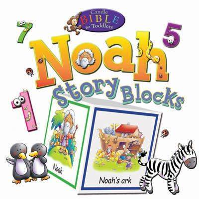 Noah Story Blocks - Candle Bible for Toddlers (Board book)