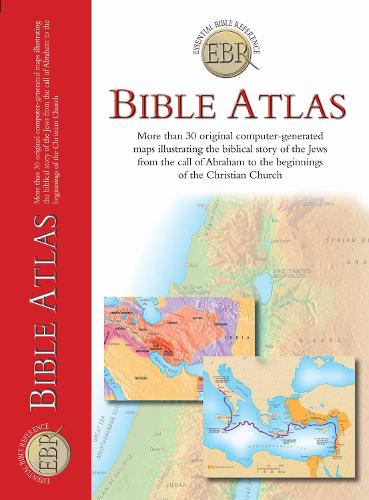 Bible Atlas - Essential Bible Reference (Paperback)