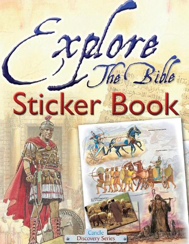Explore the Bible Sticker Book - Candle Discovery Series (Paperback)