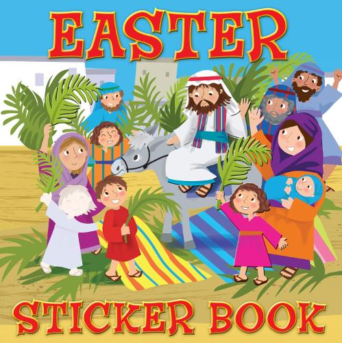 Easter Sticker Book - My Very First Sticker Books (Paperback)