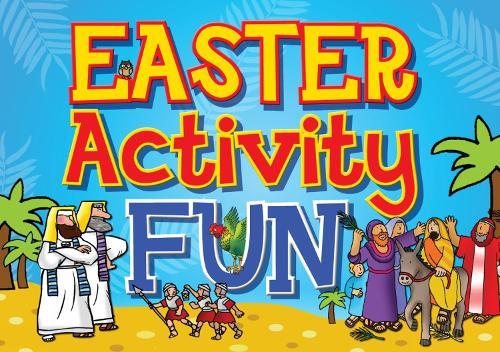 Easter Activity Fun - Jumbo Bible Activity Books (Paperback)