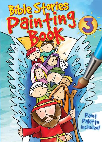 Bible Stories Painting Book 3 - Bible Stories Painting Books (Paperback)