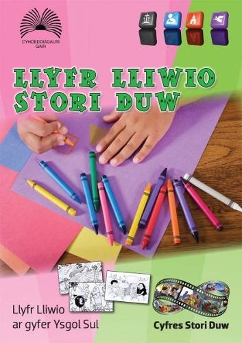 Llyfr Lliwio Stori Duw (Paperback)