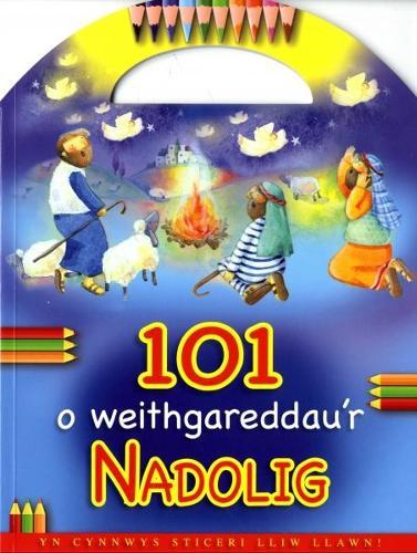 101 o Weithgareddau'r Nadolig (Paperback)