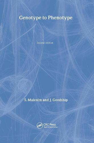 Genotype to Phenotype (Hardback)