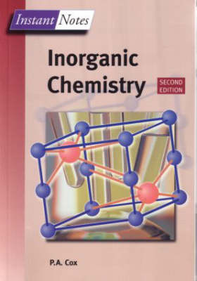 BIOS Instant Notes in Inorganic Chemistry - Instant Notes (Paperback)