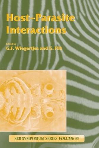 Host-Parasite Interactions - Society for Experimental Biology (Hardback)