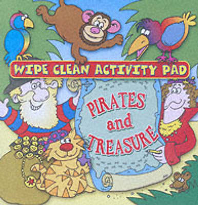 Wipe Clean Activity Pad: Pirates and Treasure (Paperback)